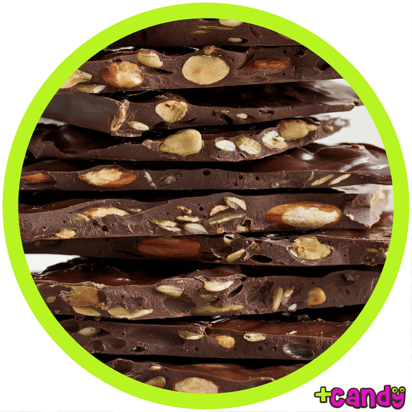 Almond Bark Dark Chocolate [500g]