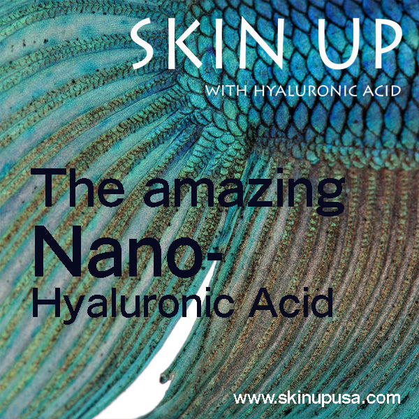 Your ultimate warrior in the battle against aging: NANO-HYALURONIC ACID