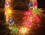 20 Ball Fairy String Lights Party Patio Holiday Wedding Bedroom Decor EU Plug