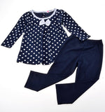 Baby Girl Kids Children's Wear Long Sleeve Costumes Tops Blouse + Pant