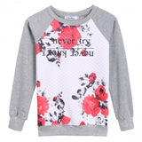 Autumn Winter Fashion Stylish Ladies Women Casual Long Sleeve O-neck Top Hoodie Blouse