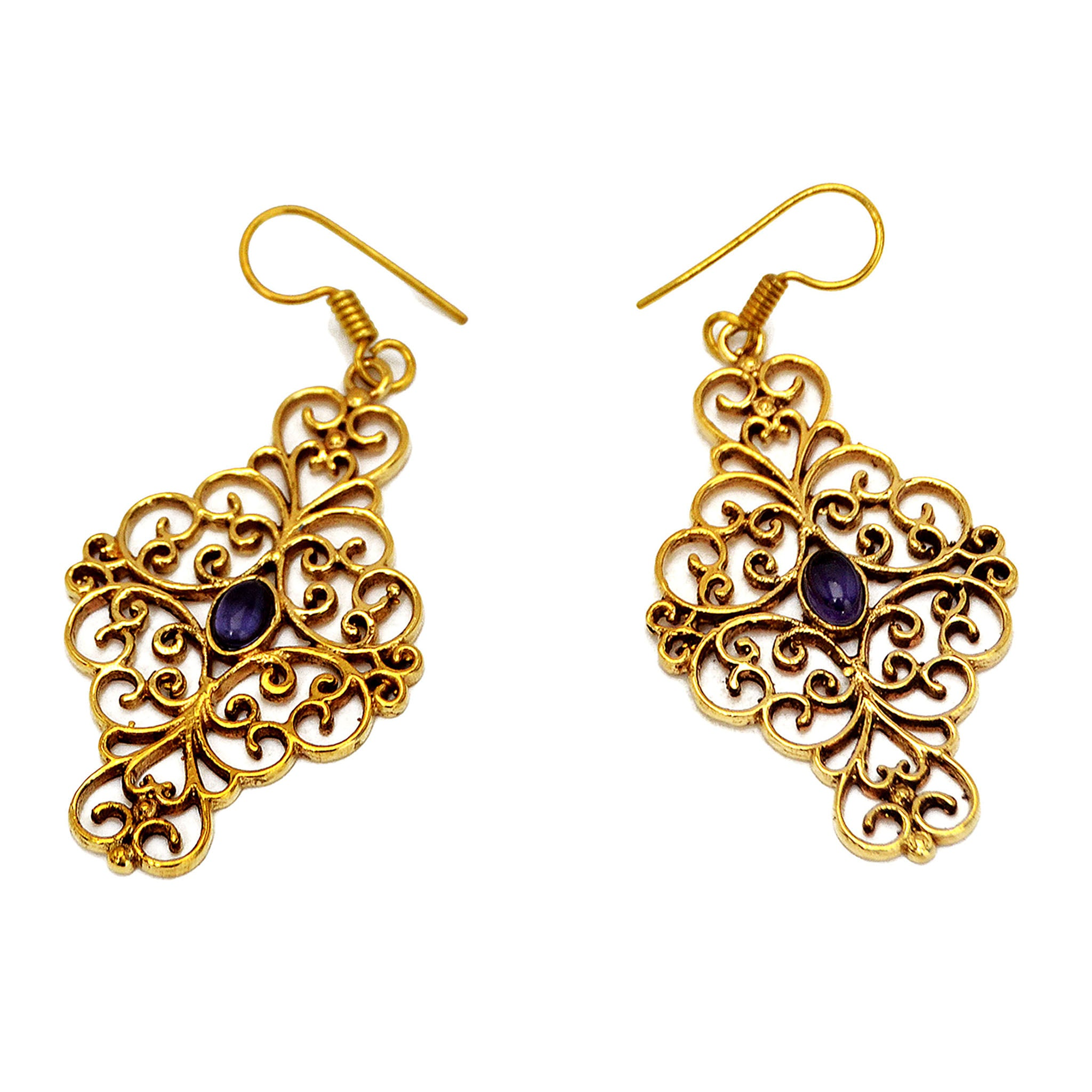 Vintage Filigree Earrings