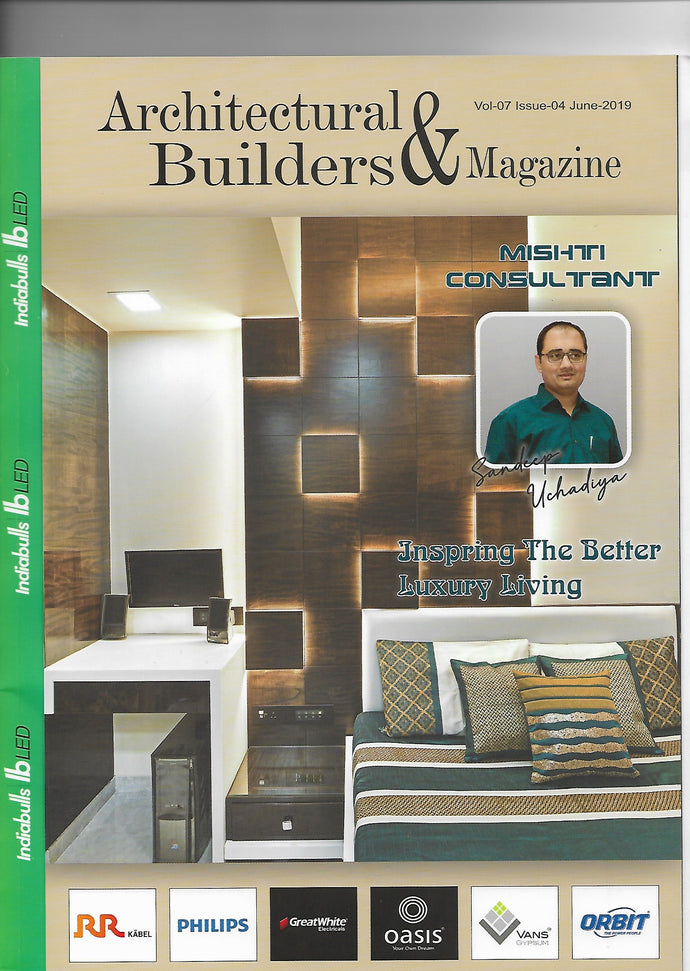 Coverage | Architectural & Builders Magazine June - 19""
