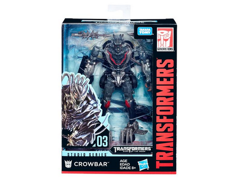 Studio Series - 03 - Crowbar Movie 3 - TOYBOT IMPORTZ