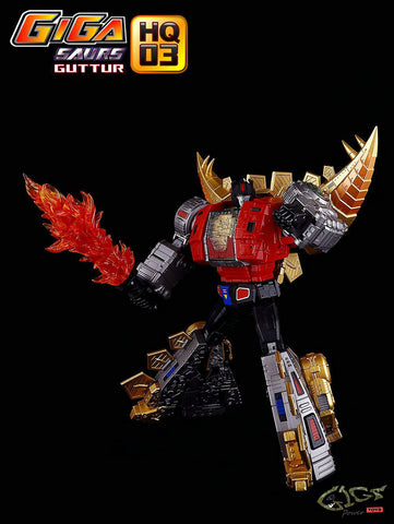 GigaPower - HQ-03 - Guttur - Metallic Version - Reissue GIGAPOWER - TOYBOT IMPORTZ