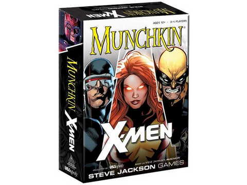 Munchkin - X-Men Card Game Steve Jackson Games - TOYBOT IMPORTZ