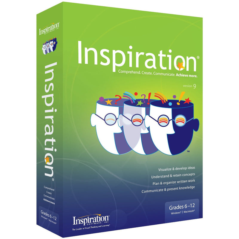 Inspiration Version 9.2 for PC & Mac