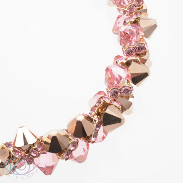 Pink Champagne Necklace - Necklace