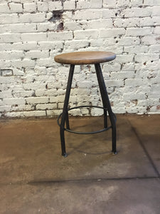 Classic Pub Stool - Hammered in Time