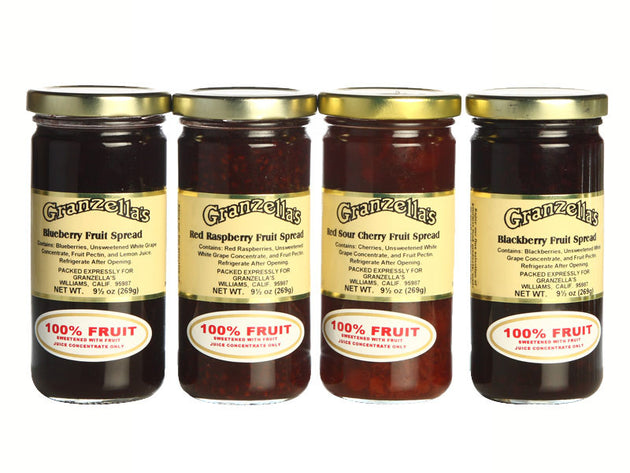 Homestyle Fruit Spreads