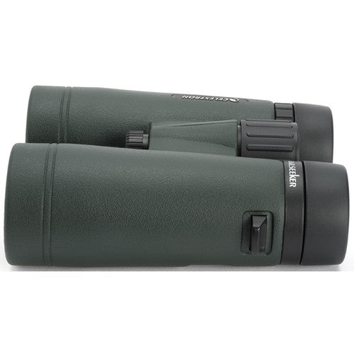The Celestron 10x42 TrailSeeker's sturdy design and weatherproof construction allow you to use these binoculars in all weather conditions.