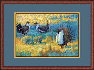 Wyoming Dawn - Sage Grouse