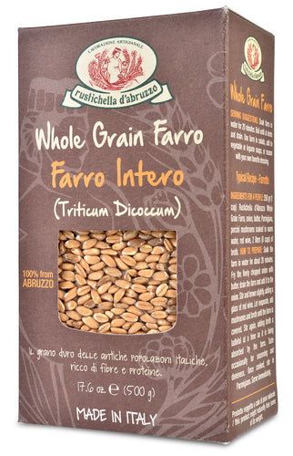Whole Grain Farro from Rustichella d'Abruzzo