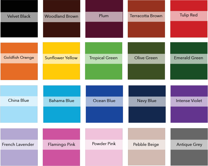 Bonnie and Dyed Colour Guide
