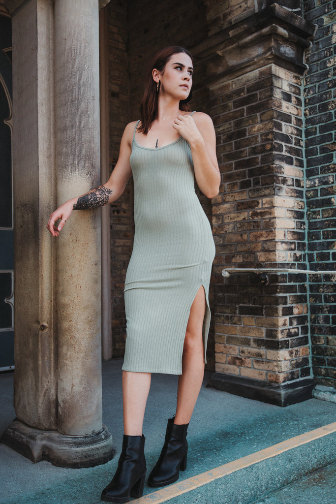 SOLD OUT / Perfect Fit Ribbed Dress