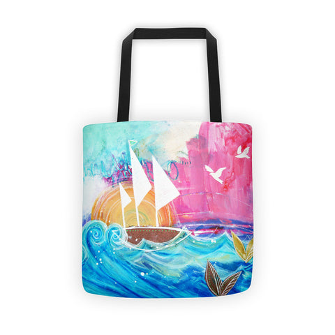 Sweet Sailboat Dreams Tote