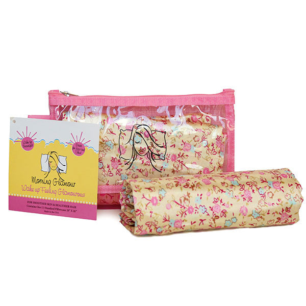 Floral Travel Bag Pillowcase Set