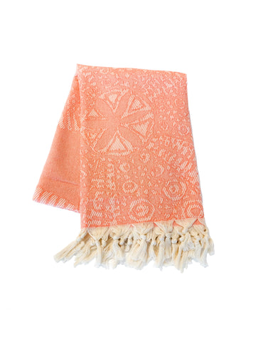 Coral Reef Turkish Towel by Splash Swim Goggles - Beach, Pool and Travel Peshtemal - Splash Swim Goggles