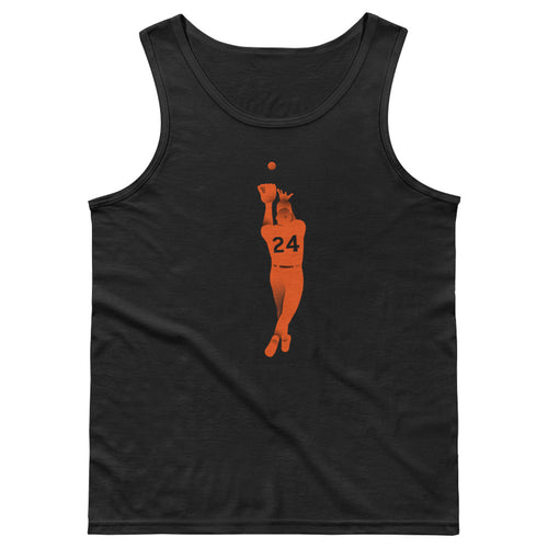 Say Hey Catch Mens Athletic Tank