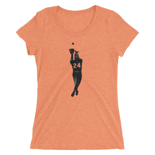 Say Hey Catch Ladies Triblend Tee