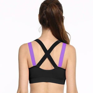 NUDEBEAUTY™ Cross Strap Push Up Sports Bra - Store One Way