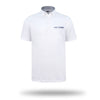 Walrus Maui Floral Tipped Pocket Golf Polo Shirt