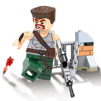Minifig Biochemical Zombie Crisis Bill-Brick Forces