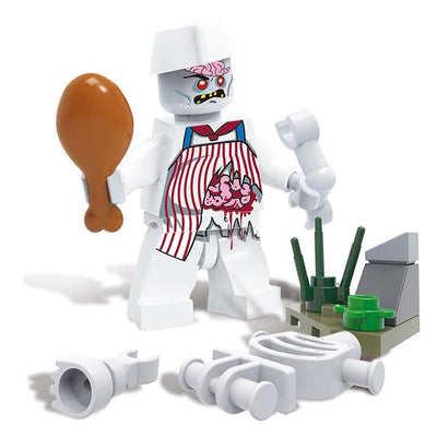Minifig Biochemical Zombie Crisis Guy-Brick Forces