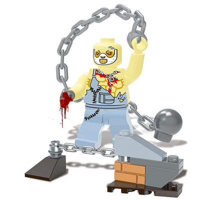 Minifig Biochemical Zombie Crisis Iron-Brick Forces