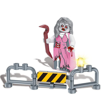 Minifig Biochemical Zombie Crisis Jenny-Brick Forces