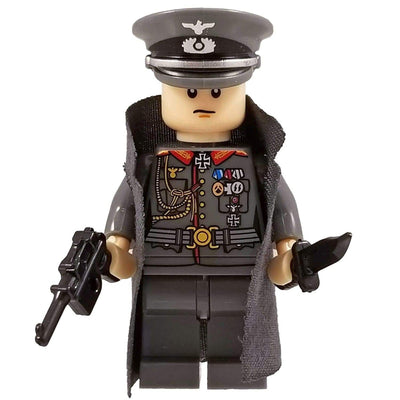 Minifig World War II German Officer Kurt-Brick Forces