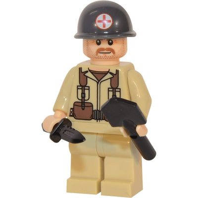 Minifig World War II Marine Medic Winston-Brick Forces