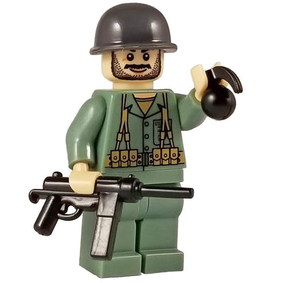 Minifig World War II Marine Seth-Brick Forces