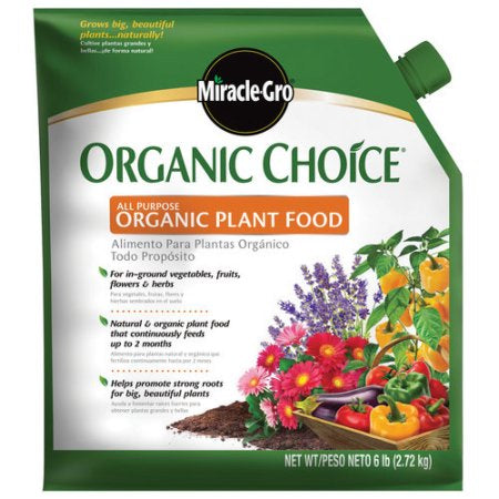 Miracle-Gro Organic Plant Food 6lb