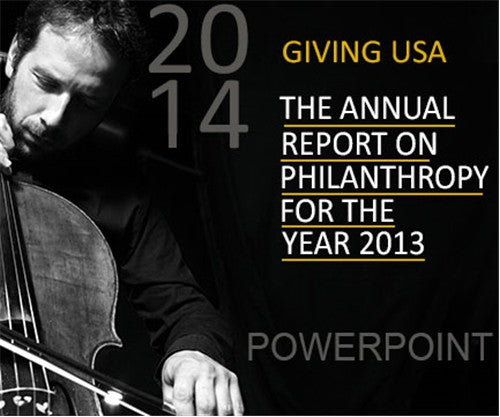Giving USA 2014 PowerPoint Package
