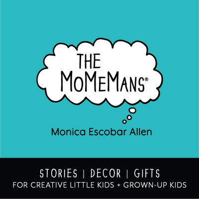 Stories, Gender Neutral Decor and Gifts for Creative Little Kids and Grown-Up Kids, Tots and Babies by Monica Escobar Allen