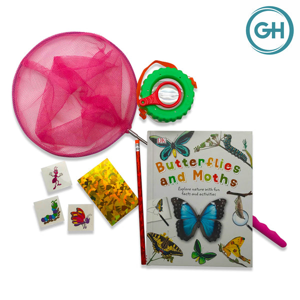 Butterfly Catching Kit (Set of 1 - Pink)