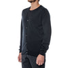 Midnight Navy Merino V-Neck Pullover Sweater