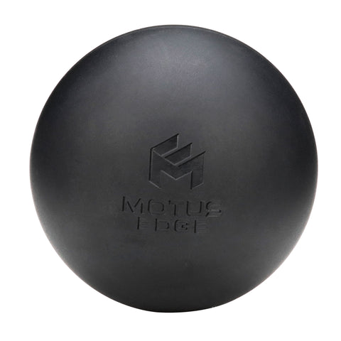 Motus Edge Lacrosse Massage Ball - Portable Muscle Roller for Trigger Point