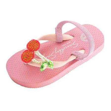 Baby Pink Cherry Kids / Baby Sandals Cute Stars View