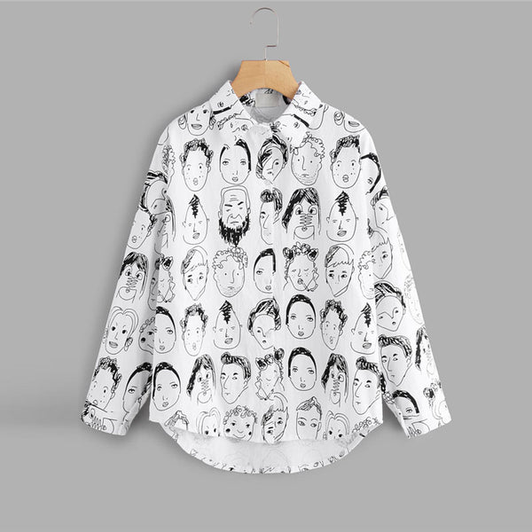 Artistic Comic Sketch Shirt,artistic bae review, artisticbae reviews, artistic bae reviews, artsy clothing  - Artistic Bae