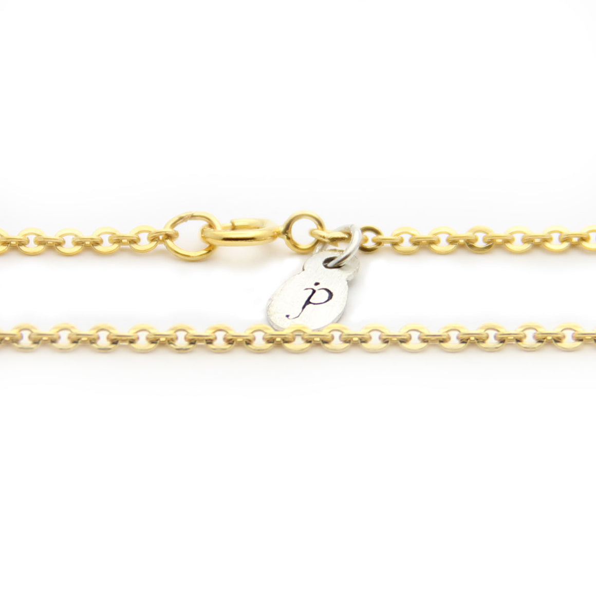 gold cable chain length option, gold chain necklace add on, design your own jewelry, jenny present®
