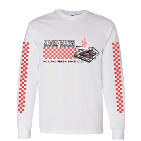 Hot and Fresh Long Sleeve Pizza Tee