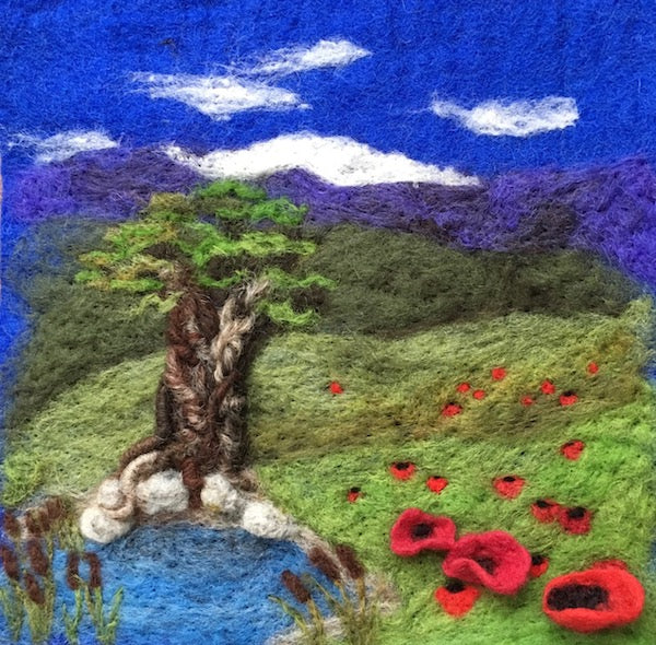 9.21.19 Felted Landscapes with Kristen Walsh