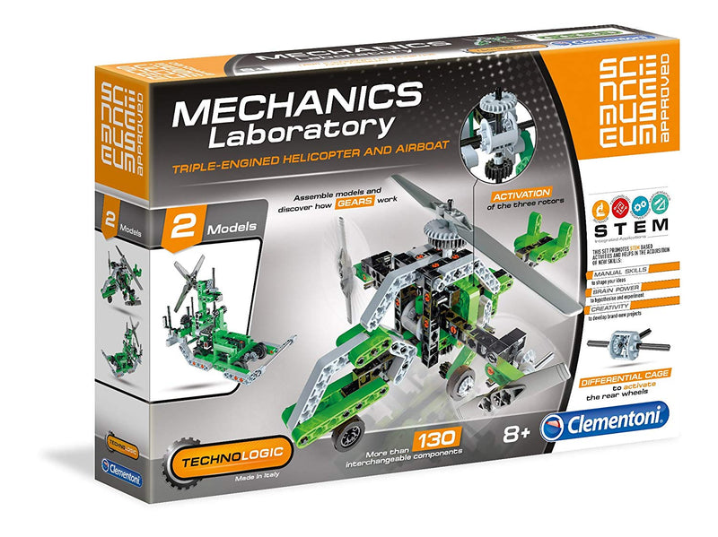 Mechanics Lab Helicopter and Airboat Scientific Kit