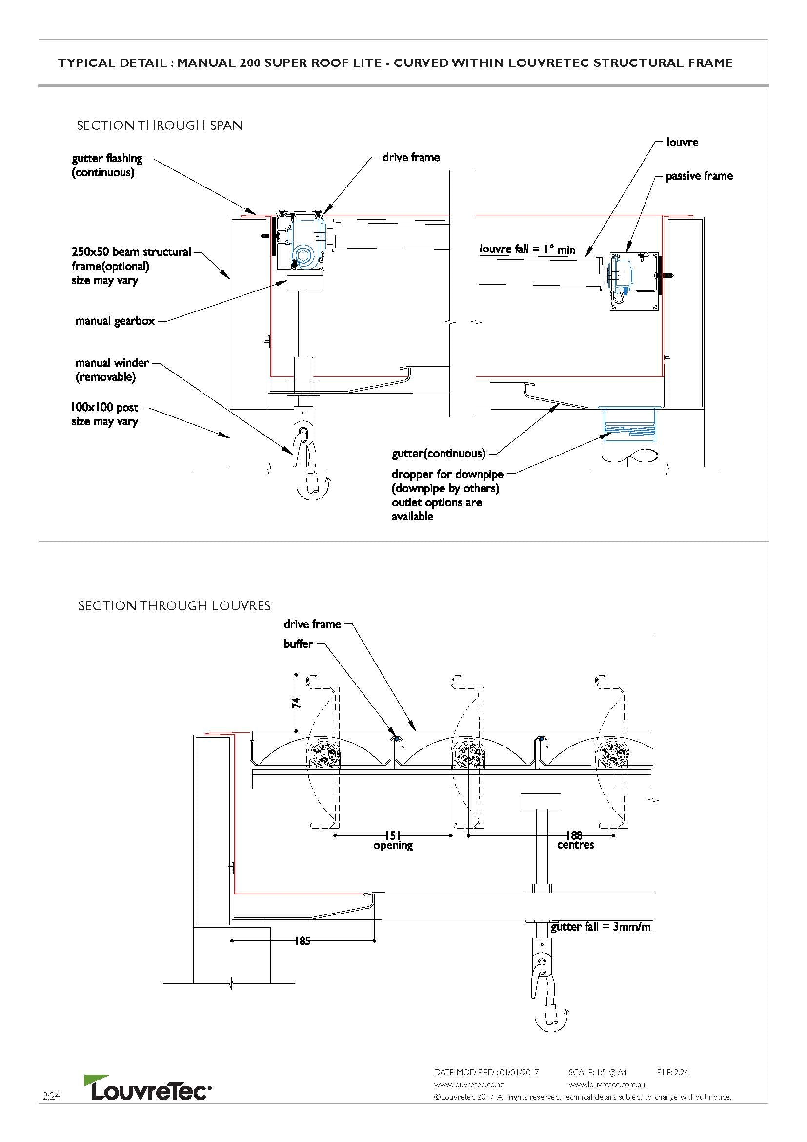 2D Typical Detail Hand Operable 2.24