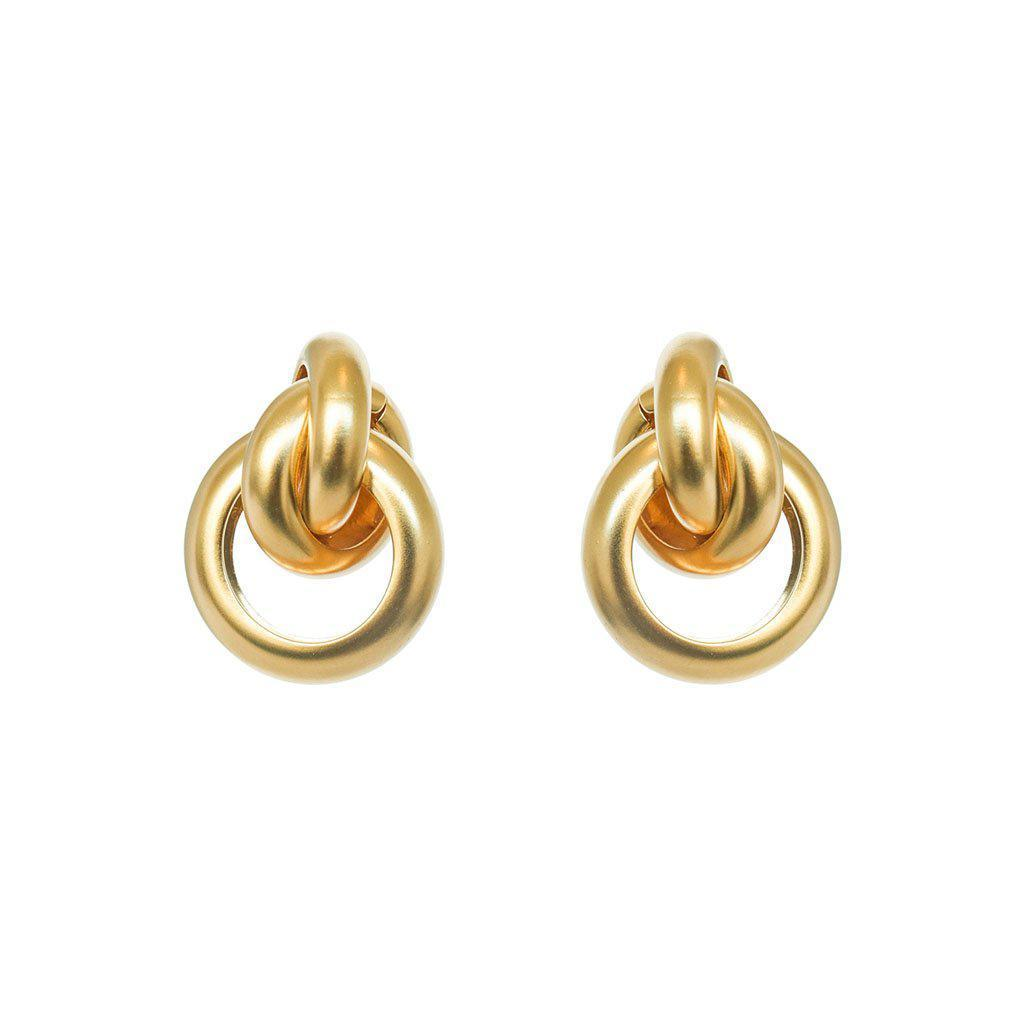 CAILEE GOLD FASHION EARRINGS