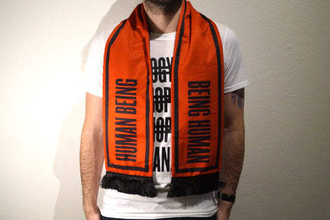 HUMAN Scarf (Black/Red)