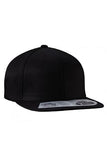 Flexfit Snapback / Custom Embroidery / Your Custom Print / Flat Bill High Profile Hat - 110F
