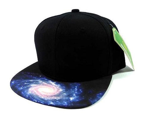 Custom Cosmic Galaxy Snapback Hat Outer space Theme Strapback Hat Your Custom Text or Logo